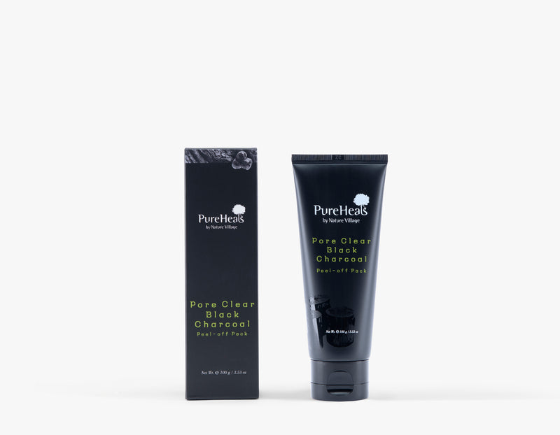 Pore Clear Charcoal Peel-off Pack