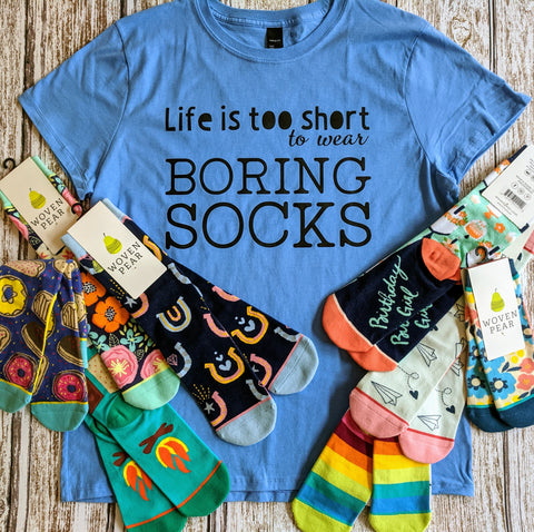 T-Shirts for Sock Lovers