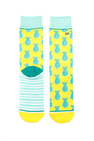 Pineapple Whip Adult Crew Socks