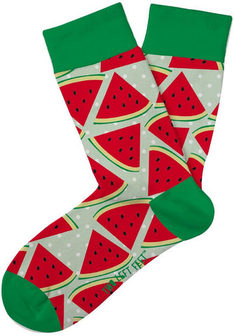 What A Melon Kids Crew Socks
