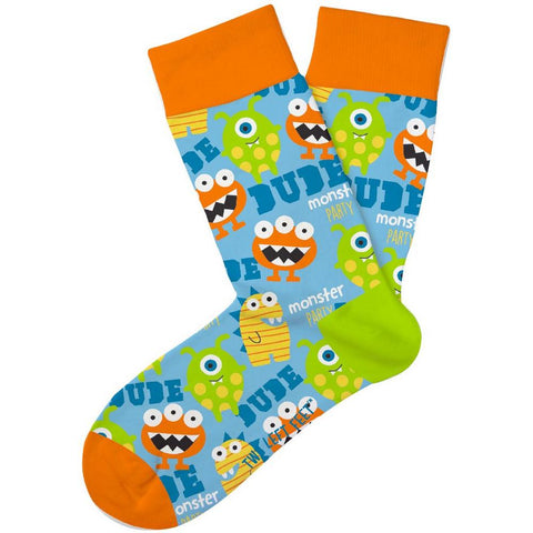 Monster Mash Kids Crew Socks