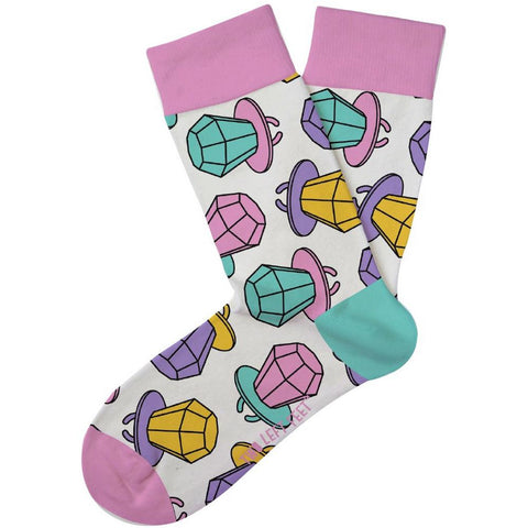 Rock the Lollipop Kids Crew Socks