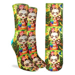 Frida Querida Adult Crew Socks