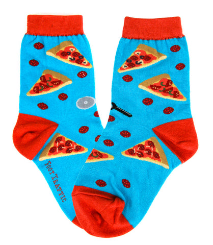 Pizza Please Kids Crew Socks