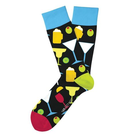 Happy Hour Adult Crew Socks