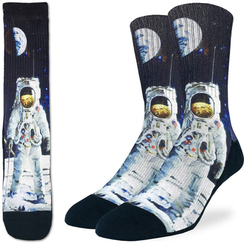 Apollo Astronaut Adult Crew Socks