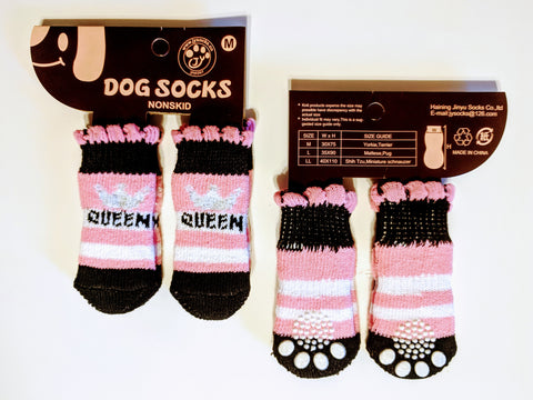 Queen Socks for Dogs