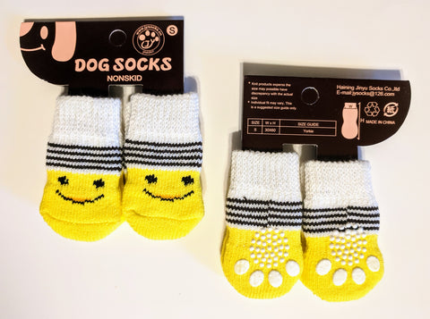 Smiley Face Socks for Dogs