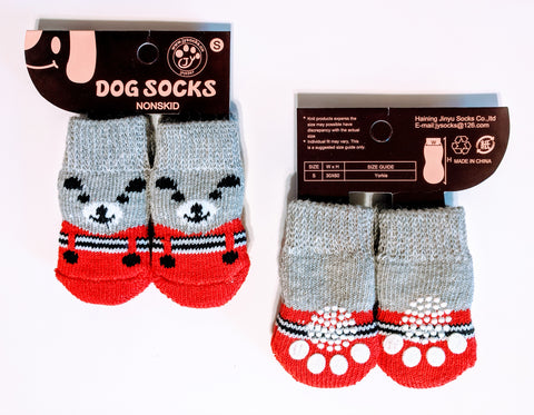 Bear in Suit Socks for Dogs