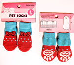 Red Bow Socks for Dogs