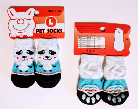 Panda Socks for Dogs