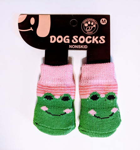 Frog Socks for Dogs