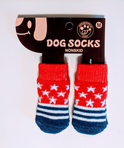 Stars and Stripes Socks for Dogs