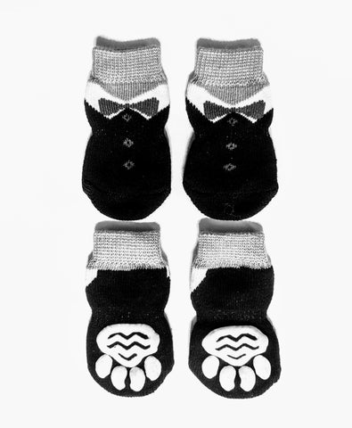 Black Tie Socks for Dogs