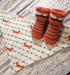 Baby Boy Sock and Bib Sets