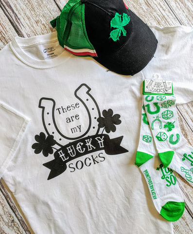 Lucky Socks Men's T-Shirt