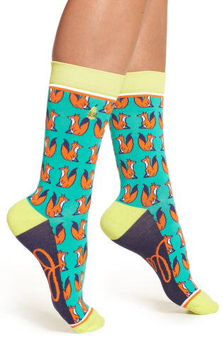 Foxy Lady Adult Crew Socks