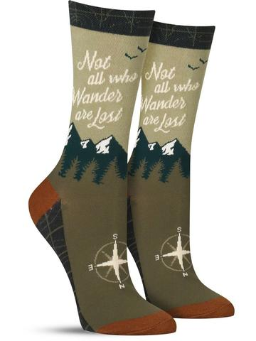 Wanderer Adult Crew Socks