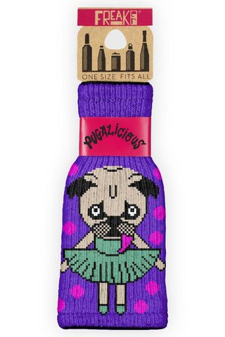 Pugalicious Bottle Sock
