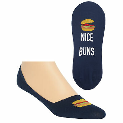 Nice Buns No-Show Men's Socks