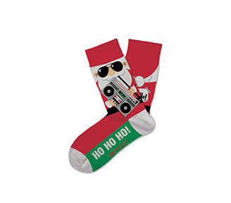 Party Time Santa Kids Crew Socks
