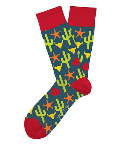 Wild Wild West Adult Crew Socks