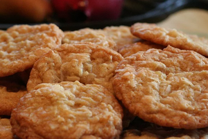 Chewy Coconut Cookies (Makes 36)