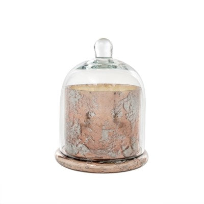 Cloche Candle - Rose Gold