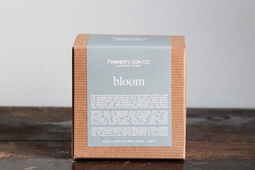 Bloom Soy Candle - 8 oz.