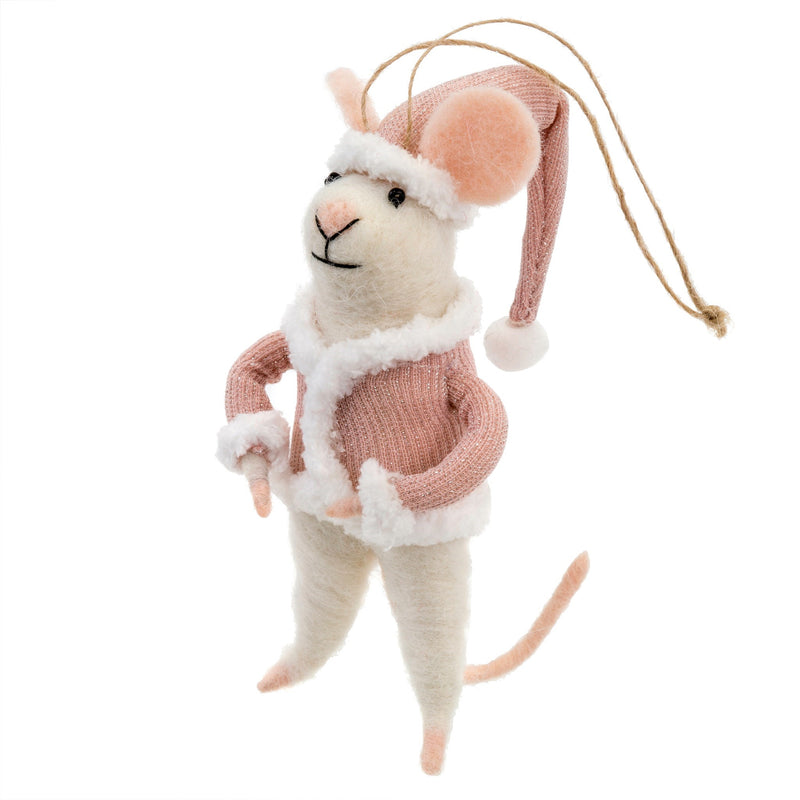 Wool Mouse Ornament