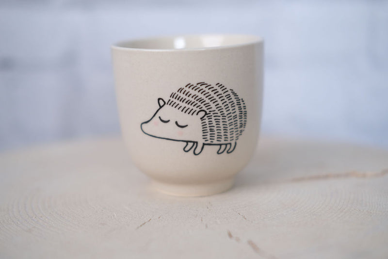 Ceramic Hedgehog Cup