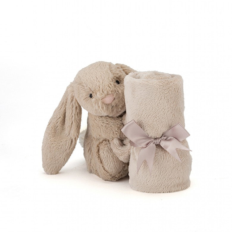 Bashful Beige Bunny Soother Blanket