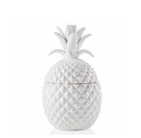 Ceramic Pineapple Canister- Large