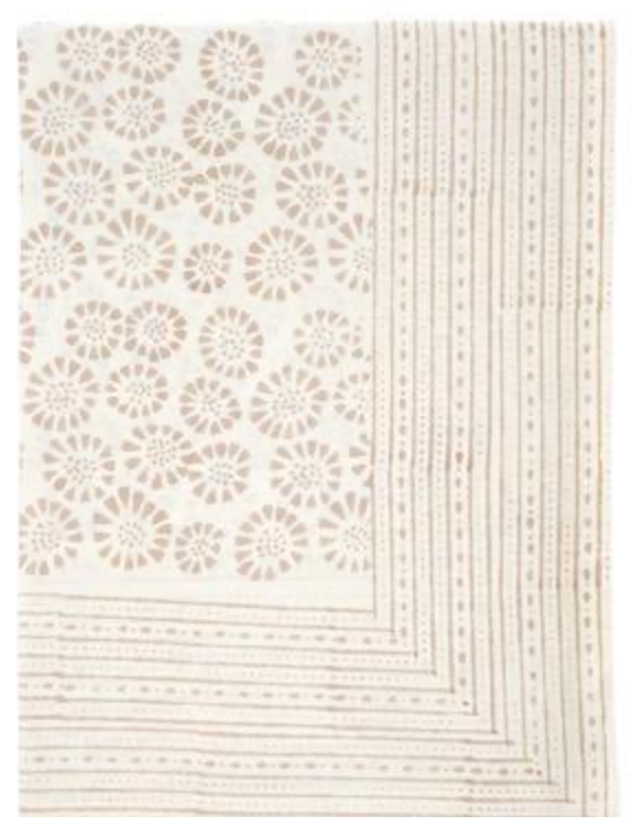 Monaco Table Cloth - Sand