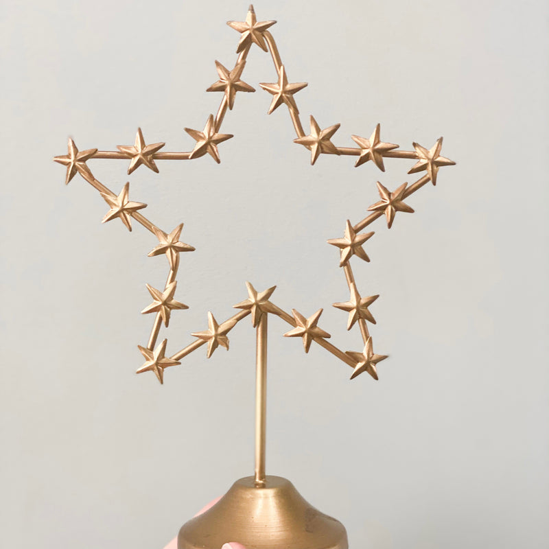 Festive Star on Stand