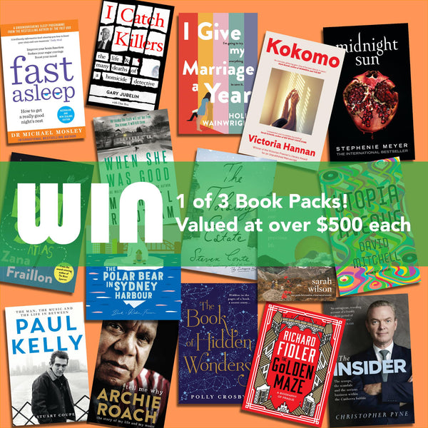 WIN 1 of 3 BOOK PACKS WORTH OVER $500