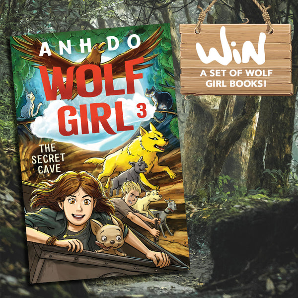 WIN A SET OF WOLF GIRL BOOKS