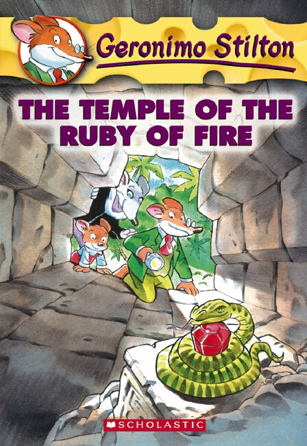Geronimo Stilton: #14 Temple of the Ruby of Fire