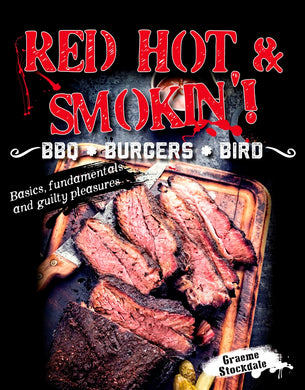 Red Hot  Smokin! BBQ Burgers Bird-BBQ . BURGERS . BIRD