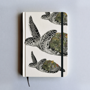 Journal Hardcover A5 - Hawksbill Turtle