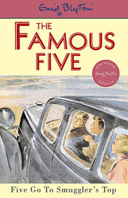 Famous Five: Five Go To Smuggler's Top-Book 4