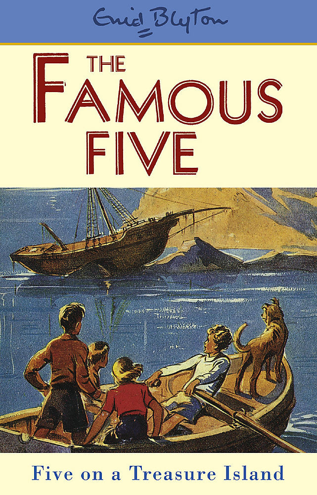 Famous Five: Five On A Treasure Island-Book 1