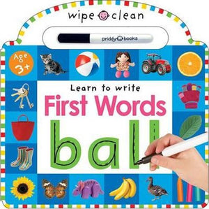 First Words-Wipe Clean Learning
