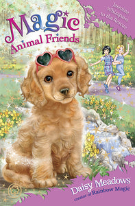Magic Animal Friends: Jasmine Whizzpaws to the Rescue-Book 29