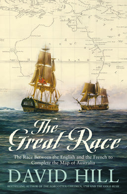 '-The Race Between the English and the French to Complete the Map of Australia Great Race