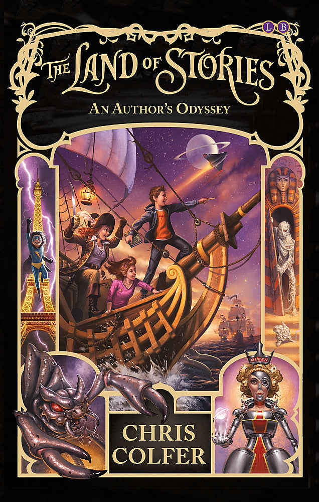 The Land of Stories: An Author's Odyssey-Book 5