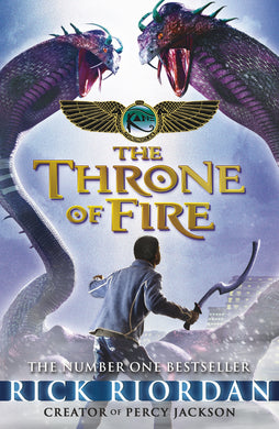 Throne Of Fire: Kane Chronicles (Book 2)