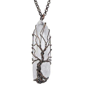 Mother Nature's Crystal Roots - Pendant Necklace Range - Soul Sound Spirited