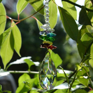 The 7 Chakra Crystal Suncatcher - Soul Sound Baths