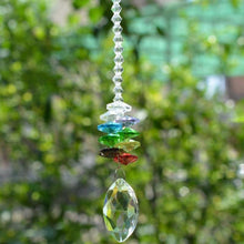 Load image into Gallery viewer, The 7 Chakra Crystal Suncatcher - Soul Sound Baths